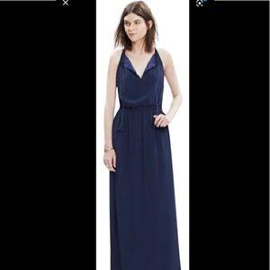 COPY - Madewell Navy long maxi dress size 12